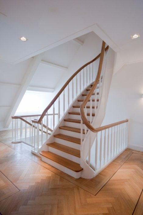 Klassiek trappenhuis grachtenpand